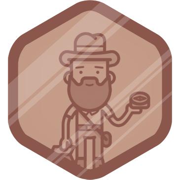 Explorador bronce